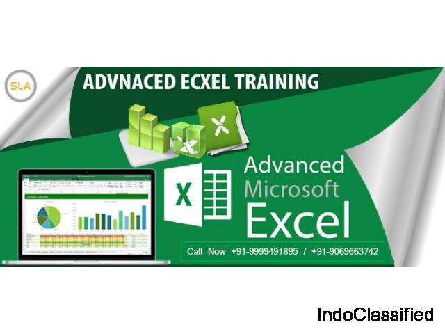 Join Advanced Excel Training Course in Delhi at SLA Consultants India