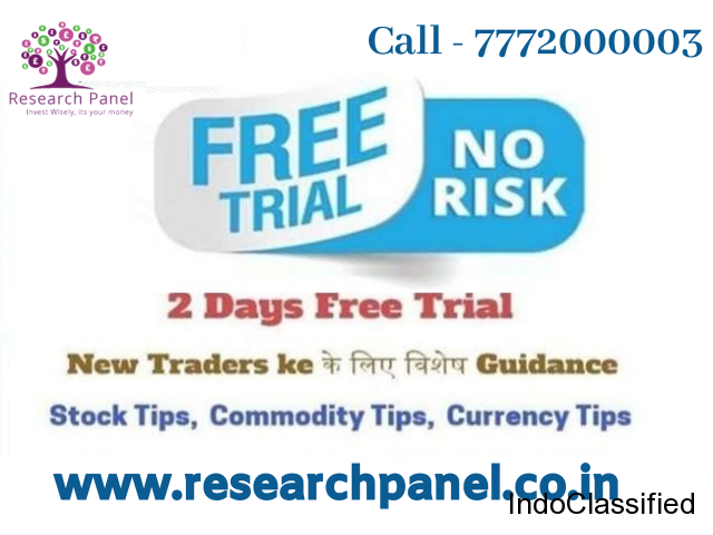 Research Panel Investment Advisers Provide 2 day's free trail For Stock market.