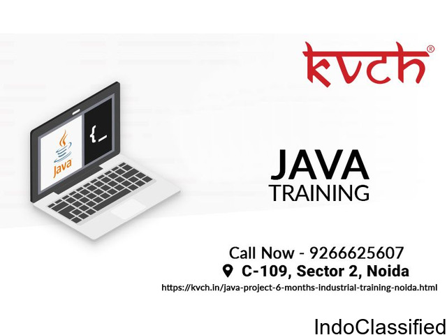 Best Java industrial training in Noida