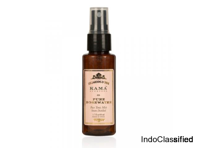 Buy Natural Pure Rose Water Online | Kama Ayurveda