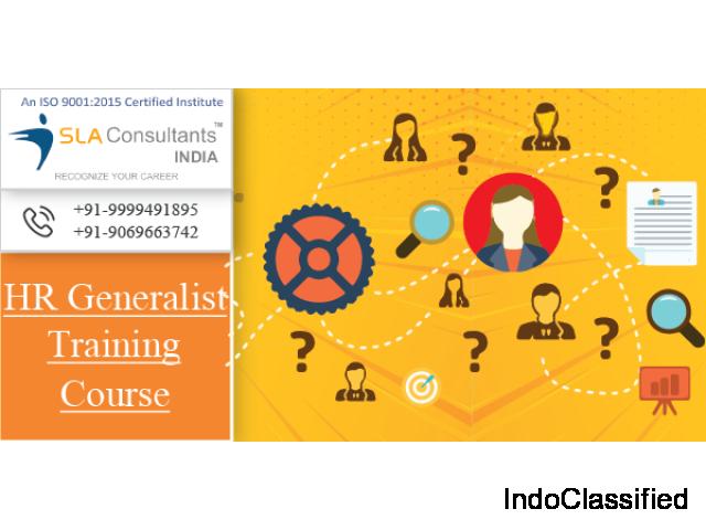 Best HR Generalist Training Course Institute in Delhi- SLA Consultants India