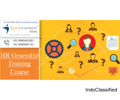 Best HR Generalist Training Course Institute in Delhi- SLA Consultants India