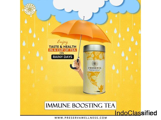 Immune Boosting Tea, Curcumin Tea