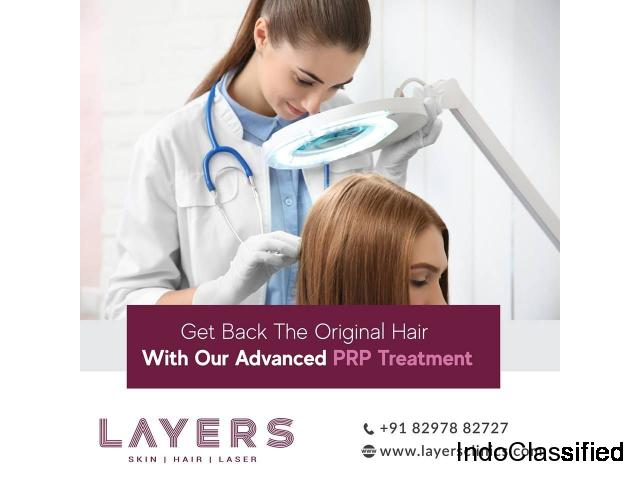 PRP Treatment For Hair Loss | Efficiency | Cost | Saftey - Layersclinics