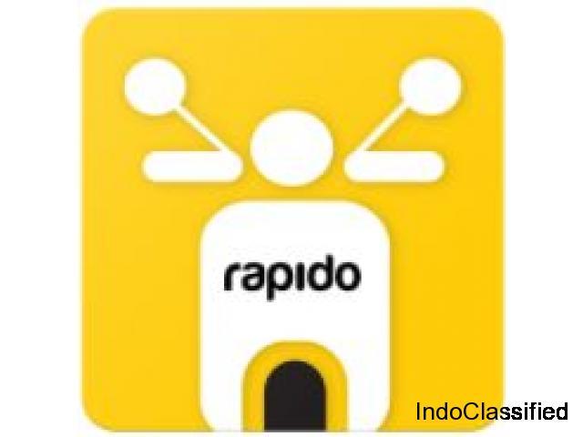 Rapido – bike taxi app