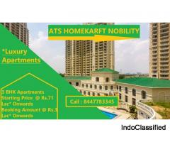3 BHK Apartments In ATS Homekrft Nobility With Best Price
