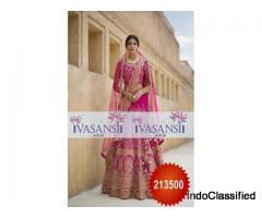 Vasansi Jaipur Latest Designer Sangeet Ceremony Lehengas