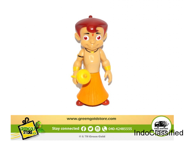 Buy Chhota Bheem With Gada Action Figure Toy Online