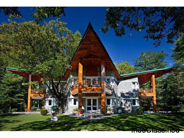 Book your stay in a resort in Manali