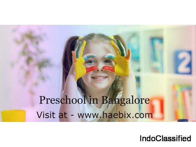 Preschool in Bangalore