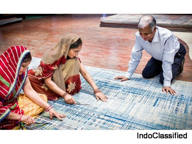 Hand Knotted Rugs Manufacturer India