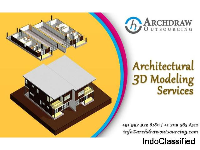 3D Modeling Services | 3D Revit Models - Archdraw Outsourcing