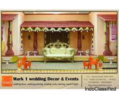Mark1 Wedding Decors | Best Wedding Planners in Coimbatore | Chennai