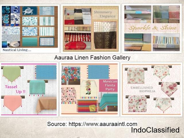 Aauraa Digital Print Collections - Linen Textile Marketplace India