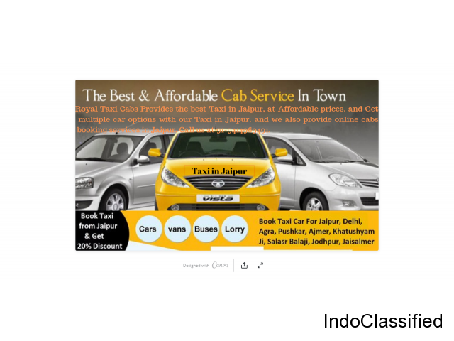 Taxi services in japur at affordable Price.