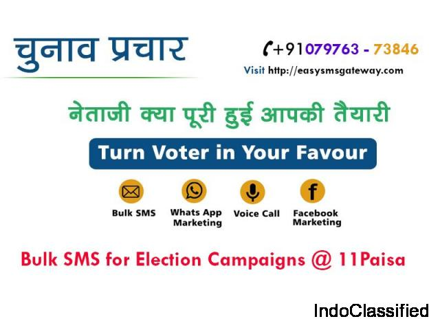 Bulk SMS Service For Political Parties and Election Parties