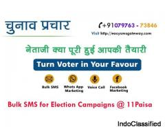 Election SMS Campaign Service | Bulk SMS Service Provider in Pune, Maharashtra
