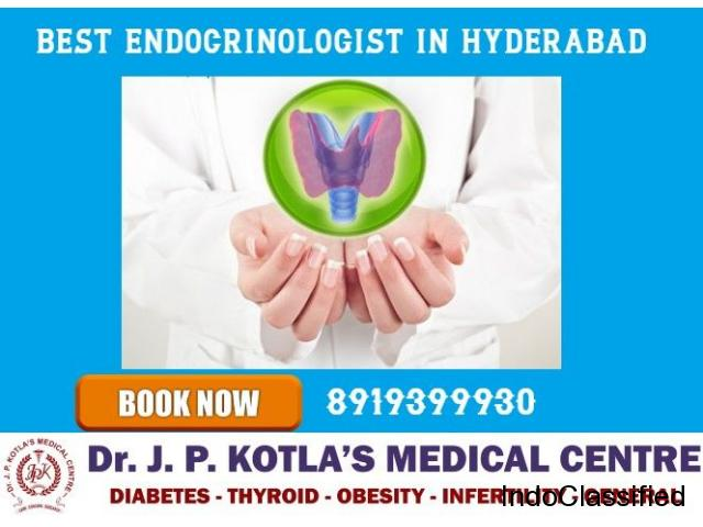 Best Endocrinologist in Himayat Nagar - Dr.JP Kotla Medical Centre