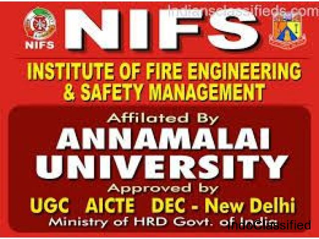 ANNAMALAI UNIVERSITY FIRE & SAFETY COURSES IN SALEM