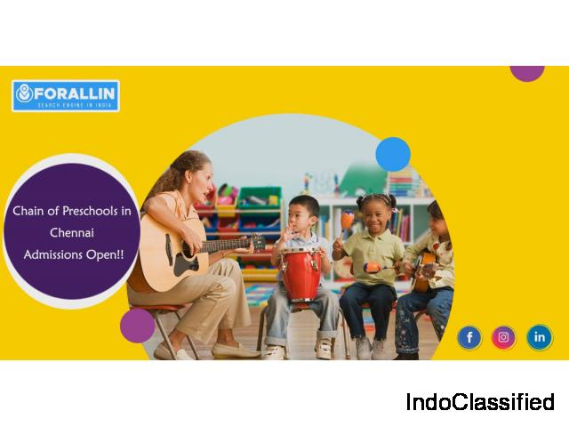 For All In | Playschool in Chennai