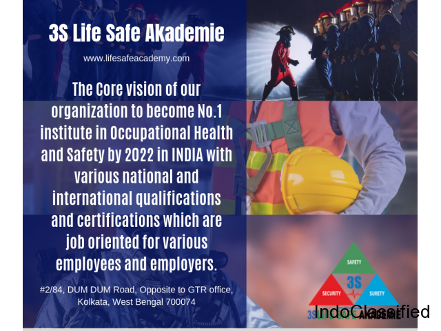 3S Life Safe Akademie : One of the best NEBOSH Institute in India