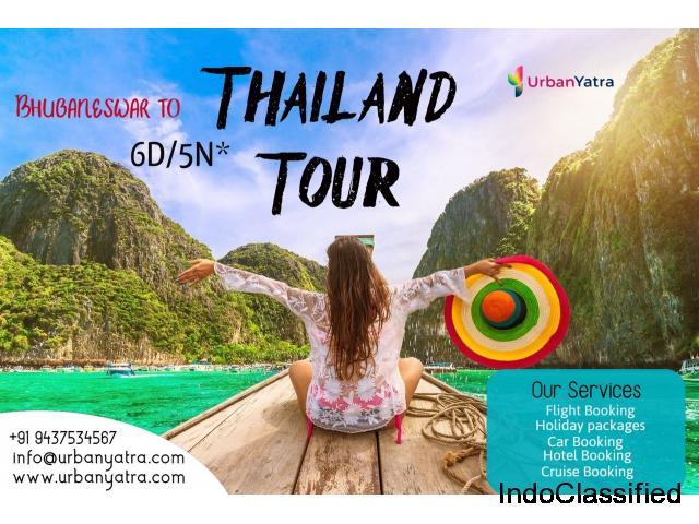 Bhubaneswar to Thailand Tour