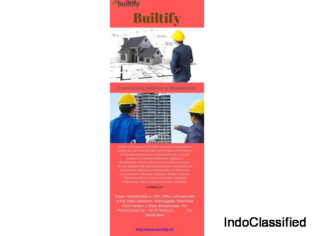 Best Construction Company in Bhubaneswar