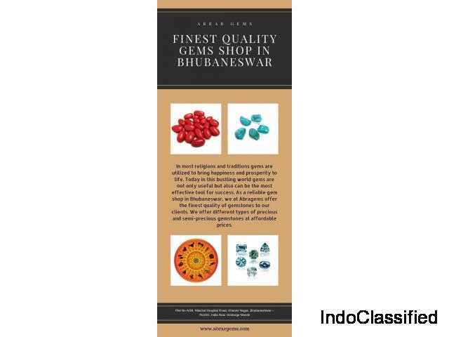 Abragems Finest Quality Gems Shop in Bhubaneswar