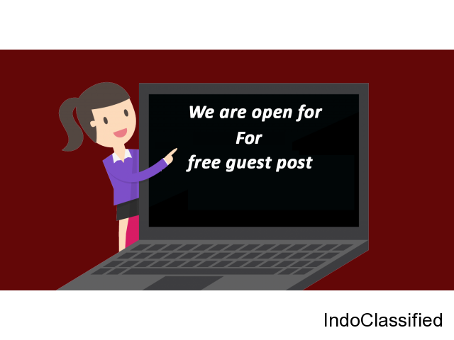 Hey There! We are Accepting Guest Posts for Free!!!