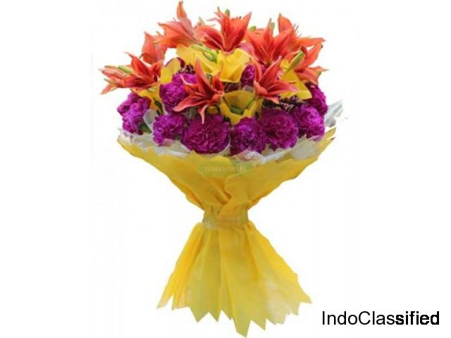 Send flowers to Delhi in Midnight @399- Yuvaflowers