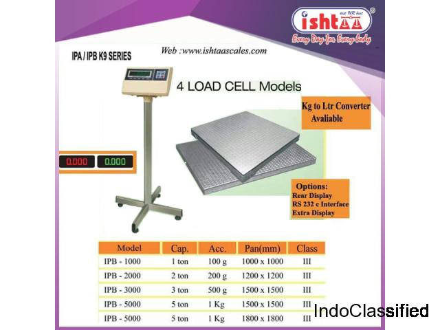 Heavy 4 Load Cell Platform Scales