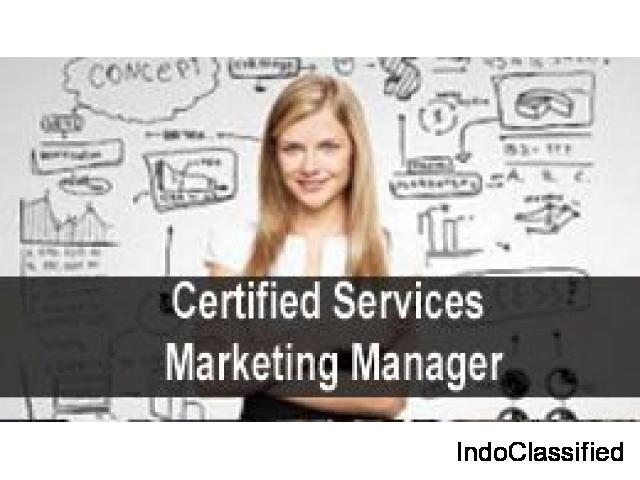 Short term Certified Services Marketing Manager