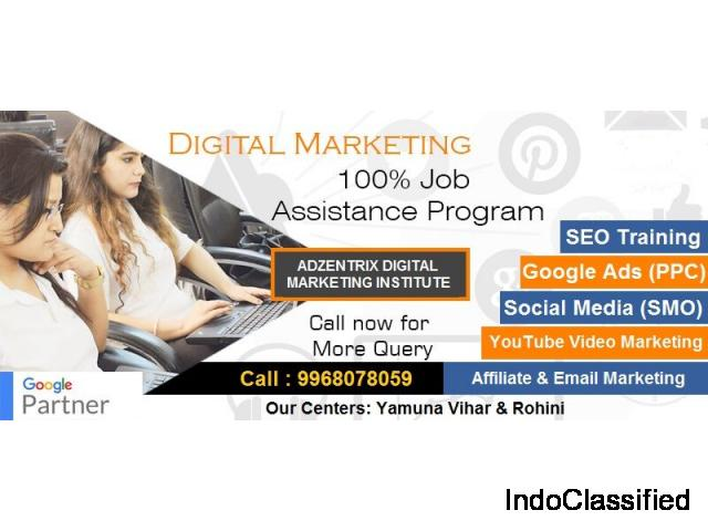 Digital Marketing Course in Rohini | Digital Marketing Institute in Rohini - Adzentrix