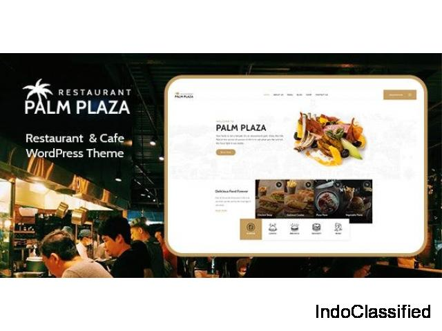 Palmplaza - Restaurant & Cafe WordPress Theme by zozothemes