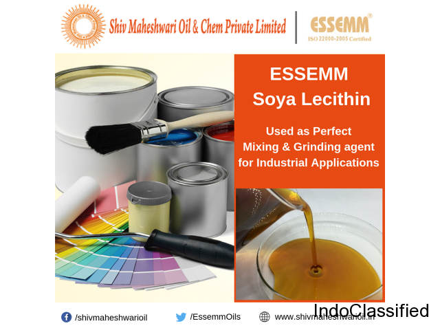 soya lecithin Products manufacturers in india|Essemm Soya Products|shivmaheshwarioils