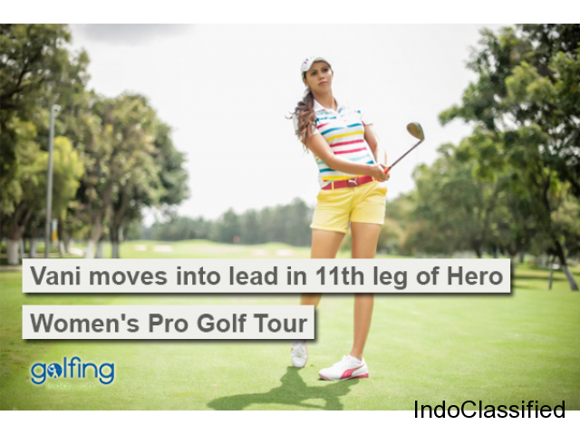 Get All The Latest Match Updates Of Vani Kapoor Golf Player