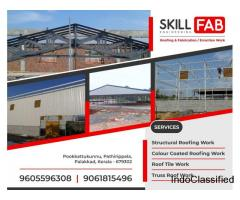 Best Industrial shed construction works in Palakkad Ottapalam Pattambi Pathirippala Pookkattukunnu