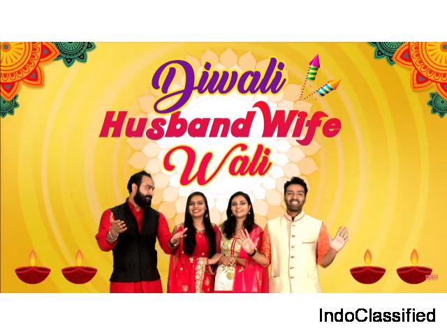 Diwali Husband Wife Wali | Diwali Special | Hindi Comedy Jokes Video | Maha Mazza