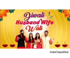 Diwali Husband Wife Wali | Diwali Special | Hindi Comedy Jokes Video | Maha Mazza