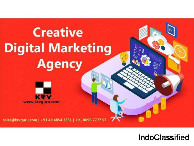 Best & Top Digital marketing agency in Hyderabad  Outsource Digital Marketing Services KRV Guru