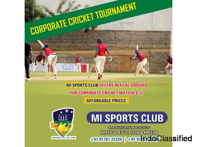 Corporate Cricket Tournament in Chennai