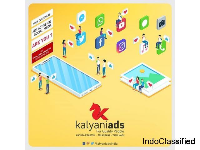 Social Media Advertising Company In Tirupati  Kalyani Ads