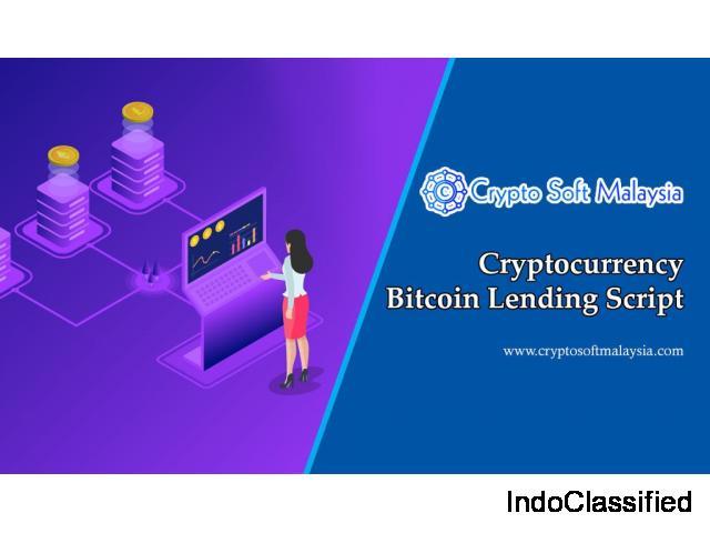 Cryptocurrency Bitcoin Lending Script - Crypto Soft Malaysia