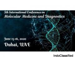5th International Conference on Molecular Medicine and Diagnostics