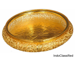 Handcrafted Gold Plated Copper Urli
