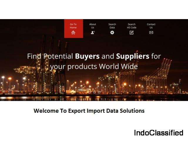 Indian Export Data