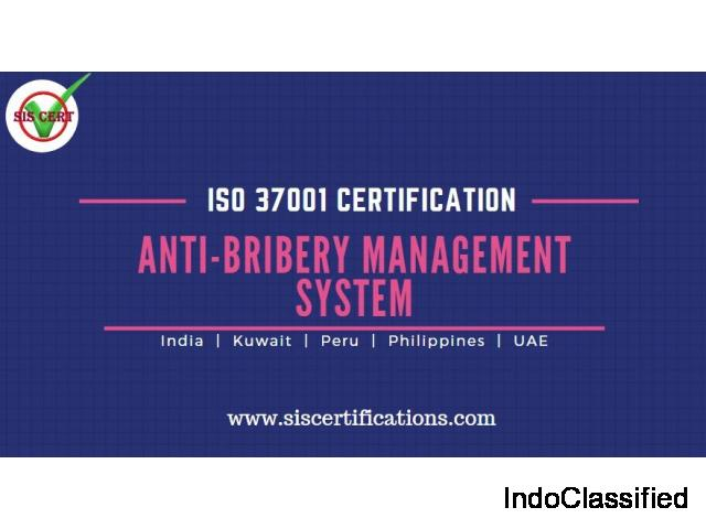 ISO 37001 Certification for Anti-Bribery Management System