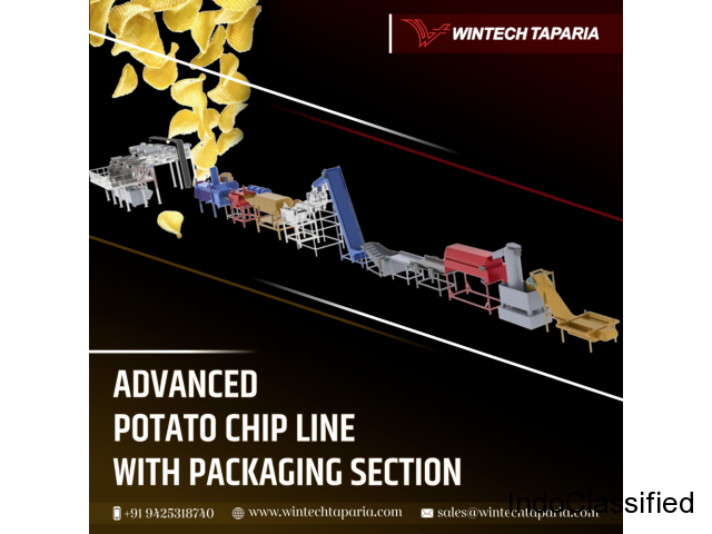 Advanced Potato Chips Line