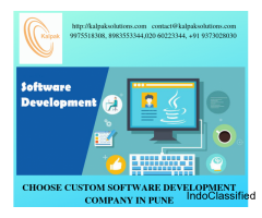 India's Best Custom Software Development Company in Pune | Kalpak Solutions