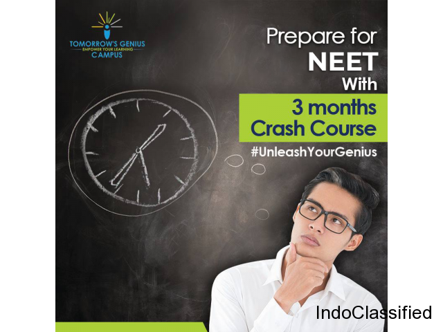 NEET Online Crash Course at TG Campus- Your ticket to gaining a medical seat!